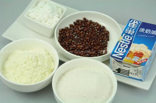 红豆牛奶冰棒