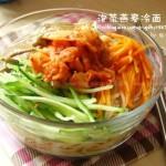 泡菜燕麦冷面(早餐菜谱)
