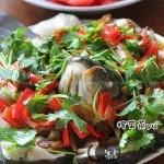 榨菜蒸鱼(荤菜)