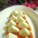 木瓜椰奶冻(自制甜品)