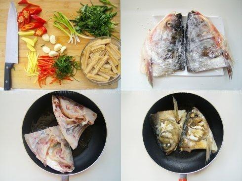 腐竹干烧鱼头