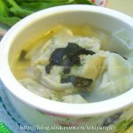菠菜牛肉饺(早餐菜谱)