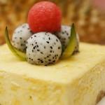 榴蓮芝士蛋糕(自制甜品)