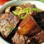 五花肉黄鱼鲞(荤菜)