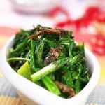 豆豉鲮鱼油麦菜(荤素搭配)