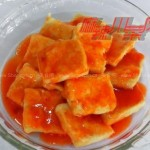 脆皮豆腐(素菜)
