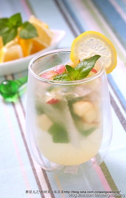 柠檬苹果汽水