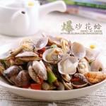爆炒花蛤(十分钟美味的快手海鲜菜肴)