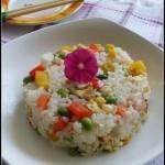 什锦炒米饭(早餐菜谱)