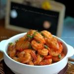 泡菜虾(海鲜家常菜)