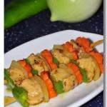 自制黑椒雞肉串(葷菜)