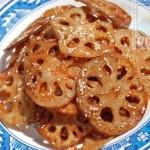 麻辣酥藕片(素菜)