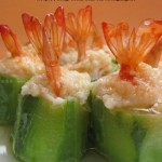 酿虾盅(海鲜家常菜)