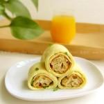 油条鸡蛋烙饼(早餐菜谱)