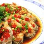 开屏鲈鱼(荤菜-十分钟搞定的家宴大菜)