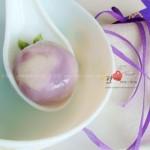 紫薯汤圆(早餐菜谱)