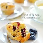 蓝莓麦芬(早餐菜谱)
