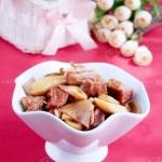 雙菇牛腩(葷菜)