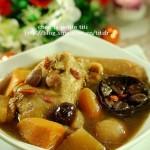 罗汉果鹌鹑汤(荤菜)