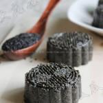 黑芝麻糕(中式点心)