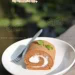 可可戚風蛋糕卷(下午茶好點心)