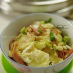 火腿炒蛋(荤菜)