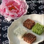 多彩冰皮月饼(自制中秋月饼)