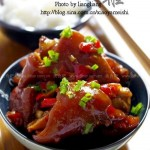 椒香酱猪手(荤菜)