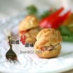 蟹肉泡芙(点心)