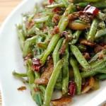 干煸豆角(家常素菜)