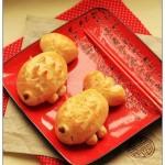 金魚豆沙面包(早餐菜譜)