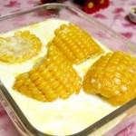 微波牛奶浸玉米(微波爐菜譜)