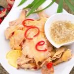 柠香白斩鸡(荤菜)