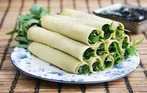 豆皮卷苣荬