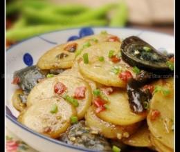 剁椒皮蛋烧土豆