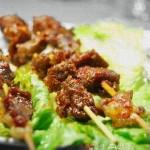 烤羊肉串(荤菜)