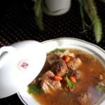 松茸排骨汤(荤菜)