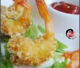 椰香凤尾虾