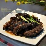 鲍汁烧海参(海鲜家常菜-干海参如何处理和发制)