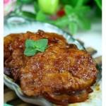 洋葱煎猪扒(荤菜)