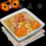 滋润养颜黄豆猪脚汤(荤菜)
