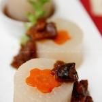 肉酱双色萝卜(素菜)