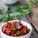 千张结烧肉(荤菜)