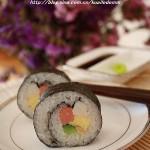 自制美味寿司(早餐菜谱)