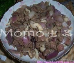 蟹味菇洋葱炒牛柳粒