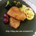 美味烤猪排(荤菜)
