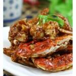 面拖蟹(海鲜家常菜)
