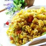 咖喱什锦炒饭(早餐菜谱)