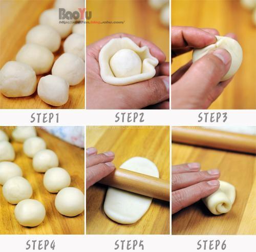 传统酥皮白月饼 (自制中秋月饼)的做法步骤