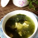 海藻鱼头豆腐汤(荤菜)